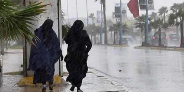 اليوم الخميس.. أمطار أو زخات مطرية