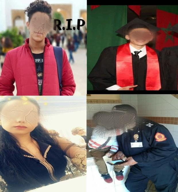 قصص مختلفة ونهاية مأساوية.. شرطي وطالبة وممرض ضمن ضحايا قطار بوقنادل (صور)