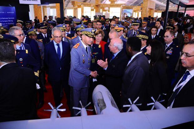 """بمشاركة 200 عارض من 80 بلدا.. انطلاق """"مراكش إير شو"""" (صور)"""