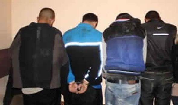 مخدرات وسيارات مسروقة.. اعتقال 4 أشخاص في تطوان