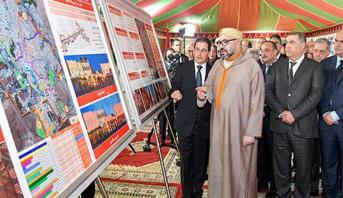 مراكش.. الملك يترأس حفل تقديم تدابير إنجاز مشاريع تثمين المدينة العتيقة