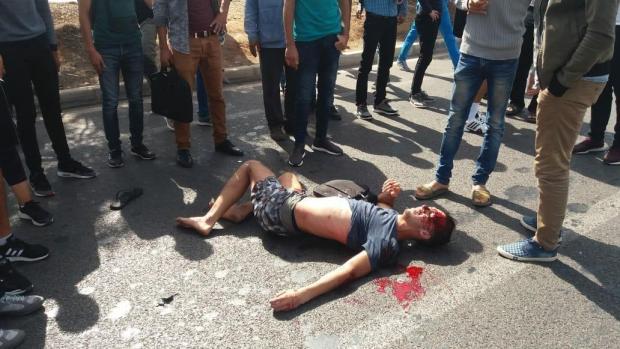 بالصور من كازا.. سيارة تدهس طالبين في المدرسة العليا للأساتذة