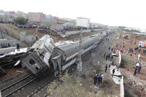 """فاجعة """"قطار بوقنادل"""".. البام باغي يدير مهمة استطلاعية"""