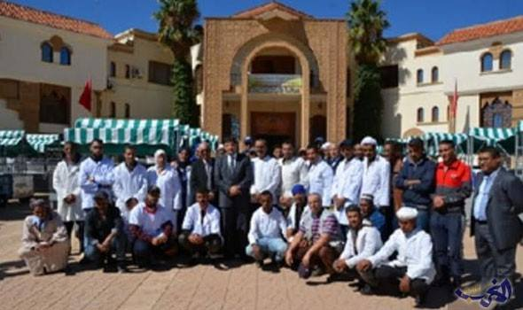جرادة.. تسليم 150 عربة لباعة جائلين وحملة طبية لمرضى السيليكوز