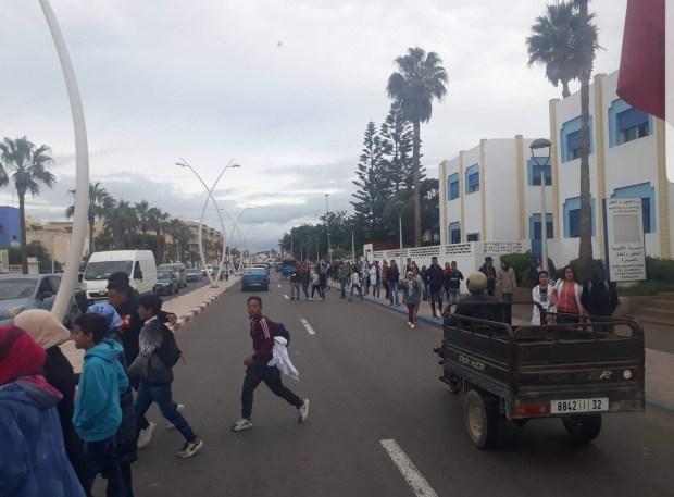 الصويرة.. هدوء وانقسام بين التلاميذ المحتجين!