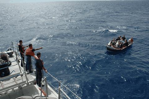 عرض البحر الأبيض المتوسط.. البحرية الملكية تقدم المساعدة لـ202 مرشحا للهجرة السرية