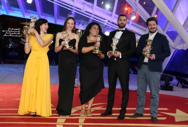 الجائزة الكبرى لفيلم نمساوي.. اختتام الدورة الـ17 للمهرجان الفيلم في مراكش (صور)