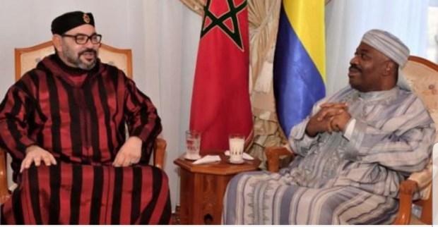 المستشفى العسكري في الرباط.. الملك يزور الرئيس الغابوني علي بونغو