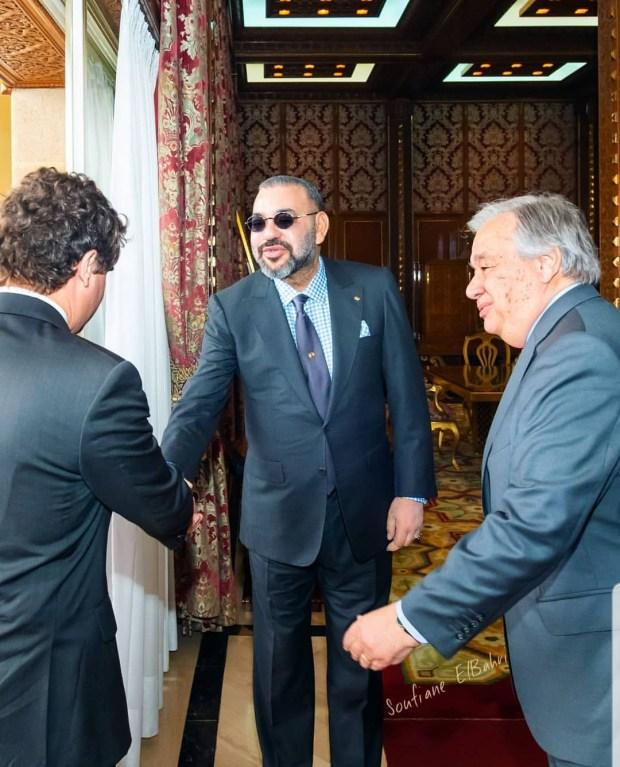 الوضع في المغرب العربي وإفريقيا وقضية الصحراء.. تفاصيل استقبال الملك لغوتيريس