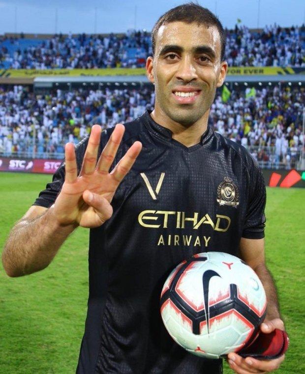 بالصور والفيديو.. حمد الله أول من يسجل سوبر هاتريك في دوري كأس الأمير محمد بن سلمان