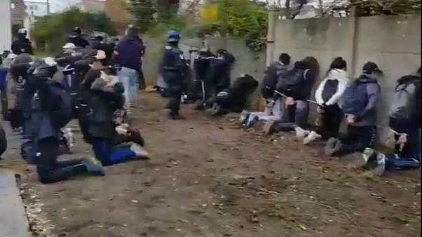 بسبب فيديو إهانة وإذلال طلاب.. غضب كبير في فرنسا