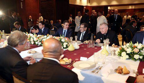 حضرها غوتيريس وترأسها العثماني.. الملك يقيم مأدبة غداء على شرف المشاركين في مؤتمر الهجرة في مراكش