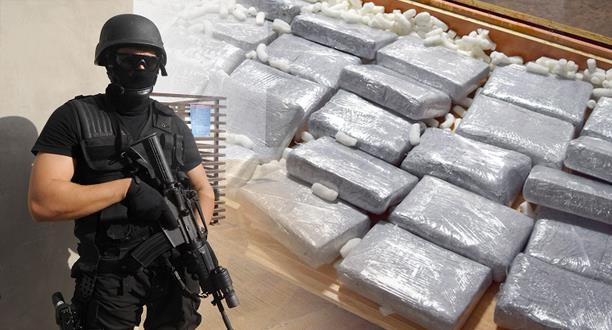حجز طن من الكوكايين عالي التركيز وتوقيف 7 أشخاص.. ضربة قوية من فرقة مكافحة الجريمة المنظمة