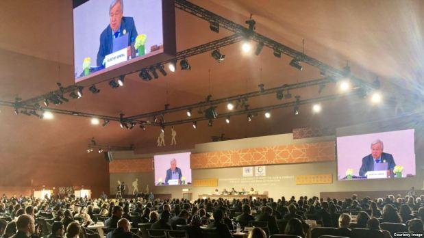 مراكش.. نحو 150 دولة تتبنى ميثاق الأمم المتحدة حول الهجرة