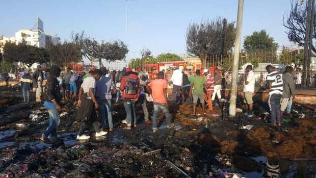 مخيم الأفارقة في كازا.. قيادي اتحادي يحمّل العامل مسؤولية الحرائق