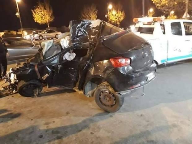 بالصور من تطوان.. مقتل شخص بعد اصطدام سيارته بمبنى الحرس الملكي