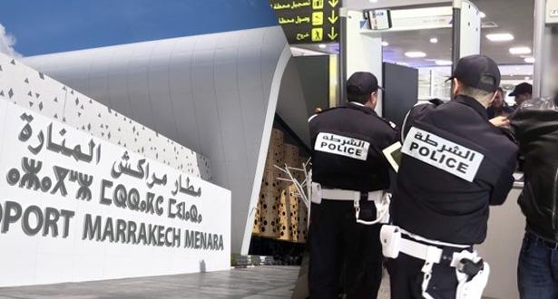 شفر فلوس سائح بريطاني.. توقيف شرطي ممتاز يعمل في مطار مراكش