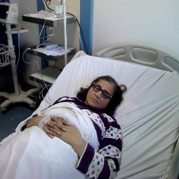 بسبب وعكة صحية.. الممثلة زهور سليماني في المستشفى العسكري في الرباط