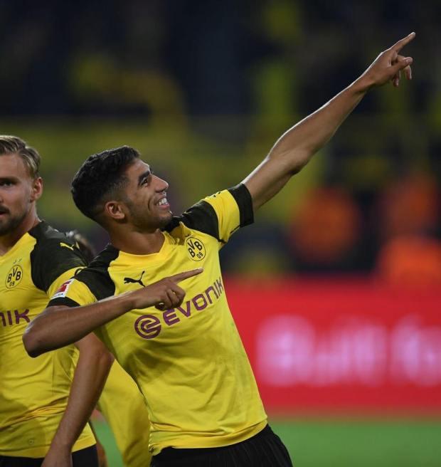 الأسطورة الألمانية: أشرف حكيمي أفضل ظهير أيسر في الدوري الألماني