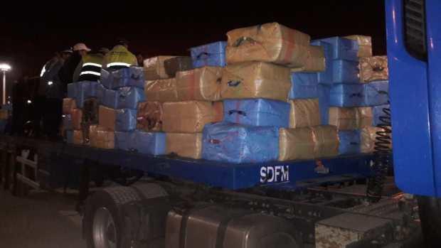 في أقل من أسبوع.. حجز أطنان من المخدرات في شاحنة دولية في طنجة