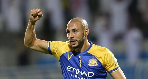 البطولة اللي جات باسم الله.. أمرابط أفضل لاعب أجنبي في الدوري السعودي