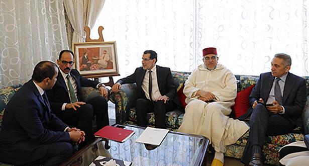 المتحدث باسم الرئاسة التركية يتباحت معالعثماني.. رسالة من أردوغان إلى الملك