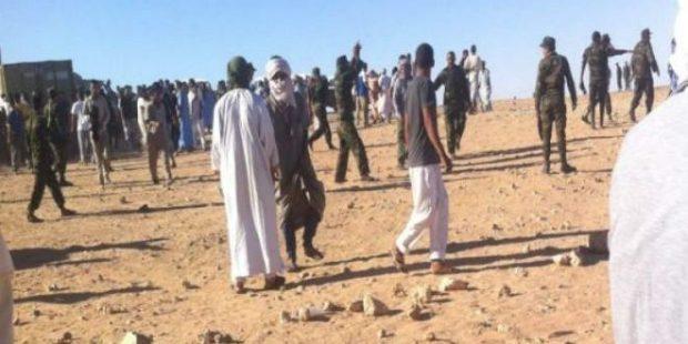 مخيمات تندوف شاعلة.. احتجاجات بسبب وفاة جندي