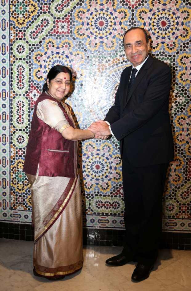 وزيرة خارجية الهند: المغرب تحت قيادة الملك جمع بين الاستقرار والتنمية