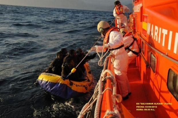 انطلقوا من الحسيمة.. البحرية الإسبانية تنقذ حوالي 50 مهاجرا سريا