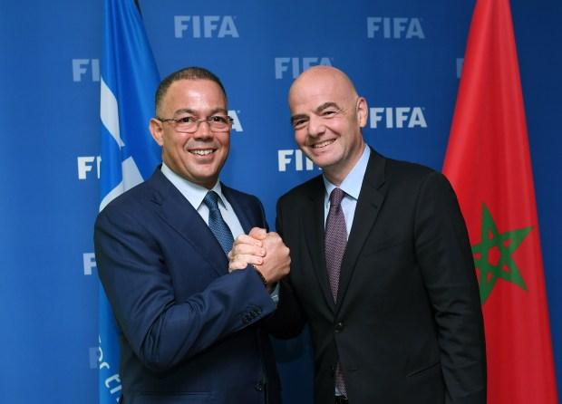 الفيفا تشكر المغرب.. إنفانتينو معجب بتنظيم مؤتمر تطوير كرة القدم في مراكش