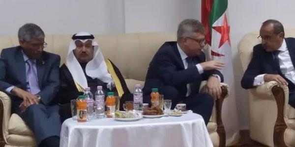 سفير الجبهة لدى الجزائر يؤكد أنها تتجه إلى تصحيح موقفها.. البوليساريو فرحانين بالسعودية!!