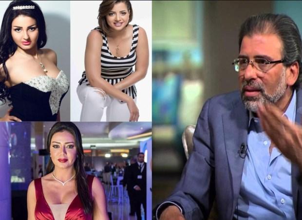 بعد الفضيحة الجنسية.. منى فاروق تعترف بصحة الفيديوهات وتتهم البرلماني خالد يوسف بالاستغلال