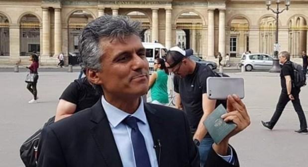 """بالفيديو.. الأمن الجزائري """"يعتقل"""" المترشح المحتمل للرئاسيات رشيد نكاز"""