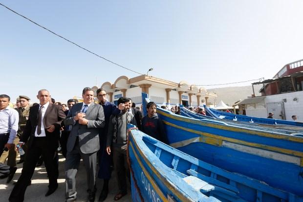 كلفت أزيد من مليون درهم.. تسليممحركات مراكب لبحارة في تغازوت (صور)