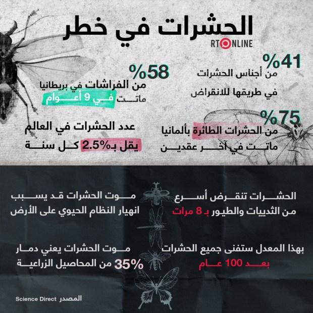 الحشرات في خطر.. انقراضها سيكون مدمرا على البشر!