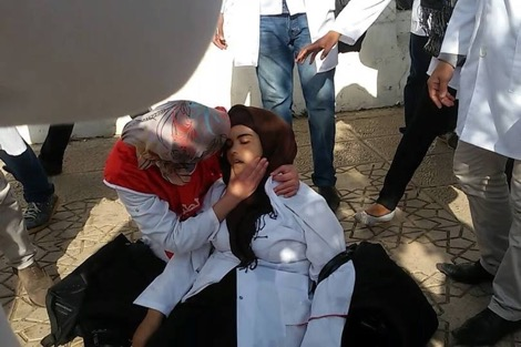 وسط غياب إحصاءات رسمية.. أنباء عن إجهاض أستاذة أثناء تدخل الأمن لتفريق مسيرة الرباط