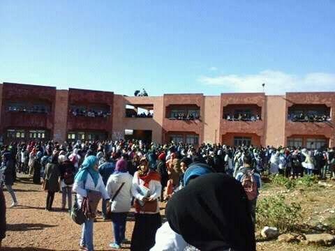 الأستاذة ديالو كتبت به تقرير.. تلميذ يحاول الانتحار داخل ثانوية في فاس