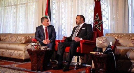 تباحثا على انفراد.. الملك يلتقي العاهل الأردني في الدار البيضاء