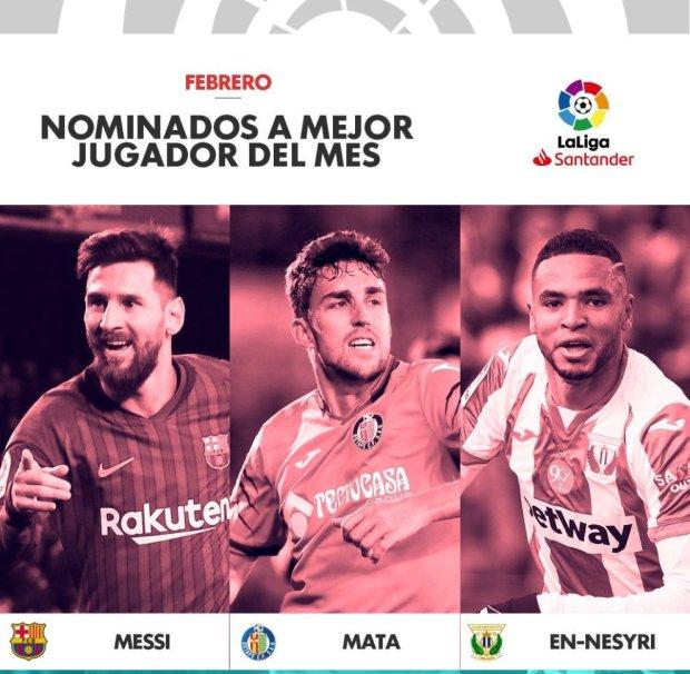 تفوق على ميسي والنصيري.. مهاجم خيتافي أفضل لاعب في الدوري الإسباني
