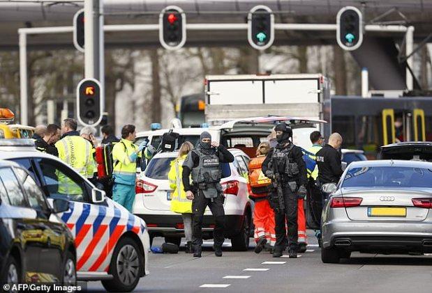 دوافع إرهابية قد تكون وراء الحادث.. جرحى في إطلاق نار في أوتريخت الهولندية (صور وفيديو)