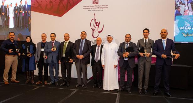 شرفو بلادهم.. تتويج 3 مغاربة بالجائزة العربية للعلوم الاجتماعية والإنسانية في قطر