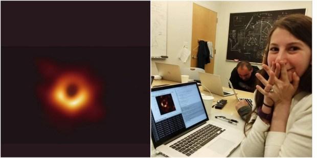 قادت البشرية إلى أكبر إنجاز فلكي.. قصة الطالبة التي كانت وراء التقاط أول صورة للثقب الأسود (صور وفيديو)