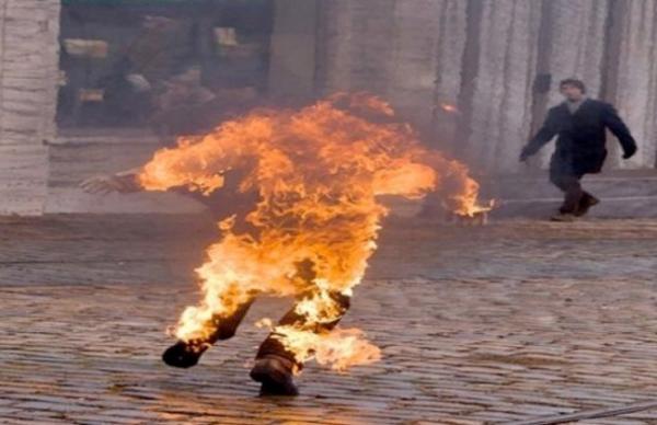 الناظور.. جلسة خمرية تنتهي بوفاة شخص حرقا