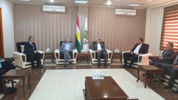 لقاءات ومباحثات.. بنعبد الله في كوردستان العراق