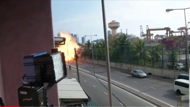 بالفيديو.. انفجار جديد في سيريلانكا وارتفاع عدد الضحايا