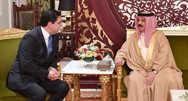 سلمها بوريطة.. رسالة من الملك محمد السادس إلى عاهل البحرين
