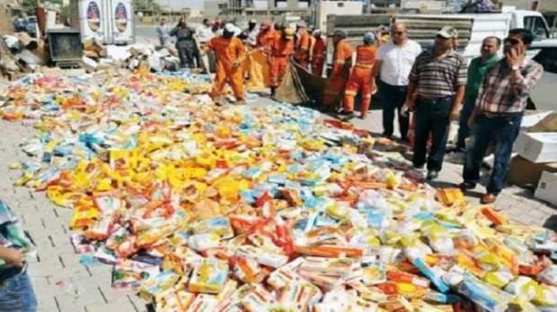 قبل رمضان.. حجز أزيد من 830 طنا من المواد الغذائية الفاسدة!