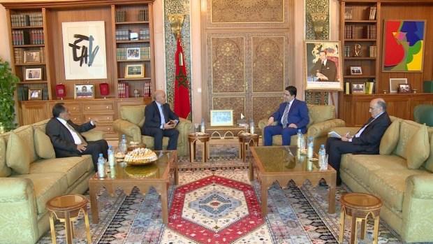 مباحثات بين بوريطة ومبعوث رئيس حكومة الوفاق.. المغرب يجدد دعوة الأطراف الليبية إلى تغليب المصلحة العليا