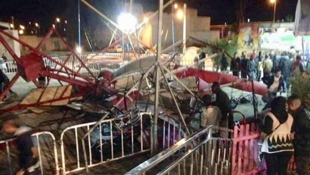 طنجة.. إصابة 22 طفلا في حادث سقوط آلة ألعاب (صور)