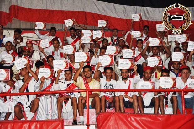 """مبادرة زوينة.. """"الوينرز"""" تحتفل بأعضائها الحاصلين على البكالوريا (صور)"""